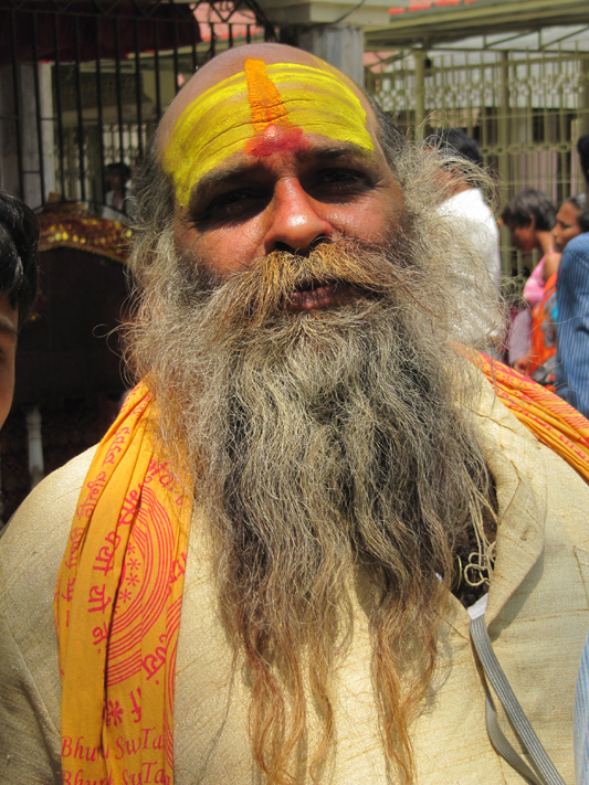 Kamakhya temple Hindu holy man