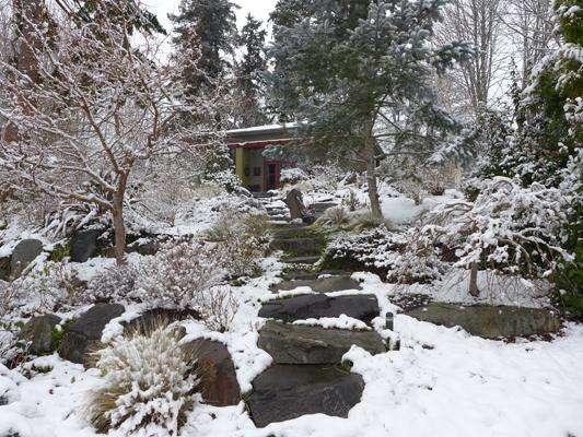 Studio in snow
